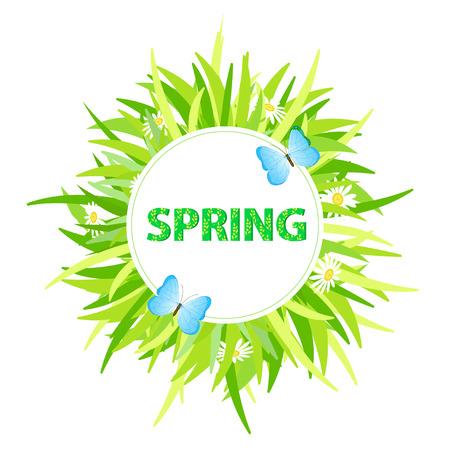 spring: Spring background