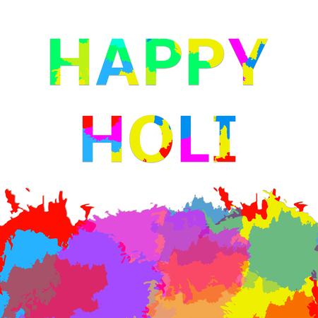 pichkari: Indian festival Holi Illustration