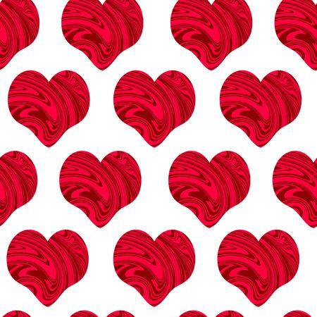 st  valentine's: Heart seamless pattern. St Valentines Day, wedding background