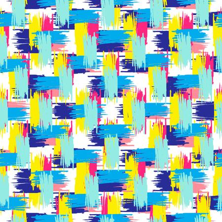 Motif synthétique abstrait. Fond coloré vecteur Vecteurs
