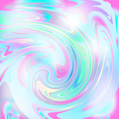 Holographic abstract colorful vector background. Creative design