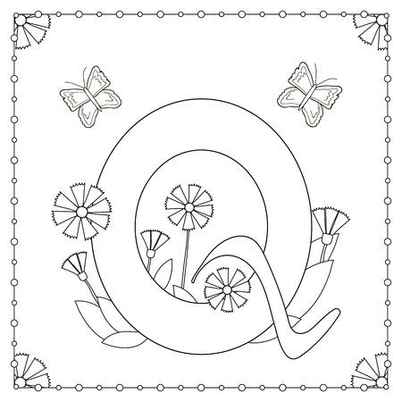 Hand Gezeichneten Grossbuchstabe X In Schwarz Malvorlagen Fur Erwachsene Lizenzfrei Nutzbare Vektorgrafiken Clip Arts Illustrationen Image 84360140