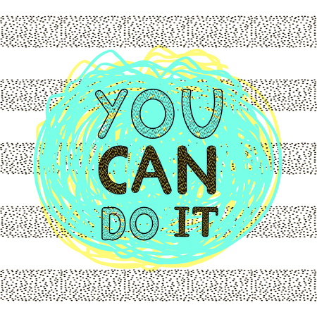 Inspiration and motivation poster.