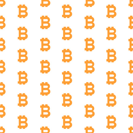 Pattern from the bitcoin symbols