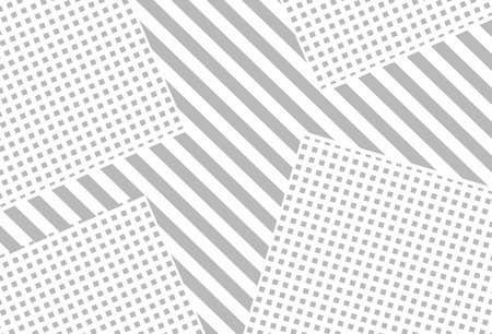 Background with gray squares and lines. Vector illustration.