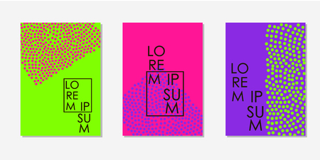 Colorful backgrounds. Templates for card, banner, poster, flyer, cover. Vector illustration Stock Illustratie