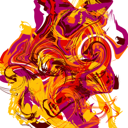Colorful abstract texture. Creative background. Vector illustration.