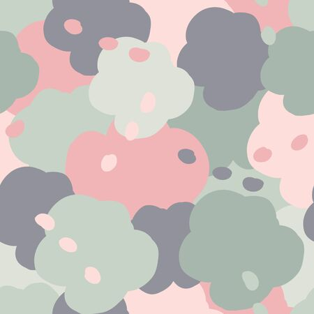 Creative seamless pattern. Vector illustration. Stock Illustratie