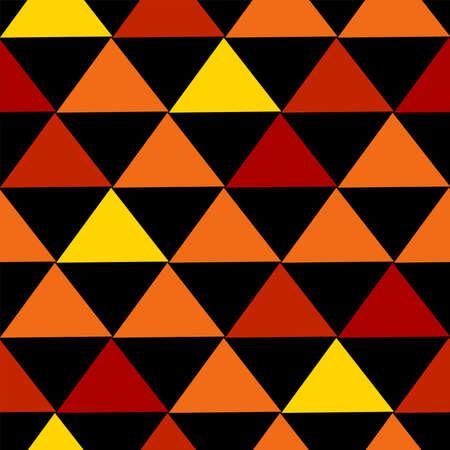 Geometric seamless pattern. Autumn digital paper. Vector background. 일러스트