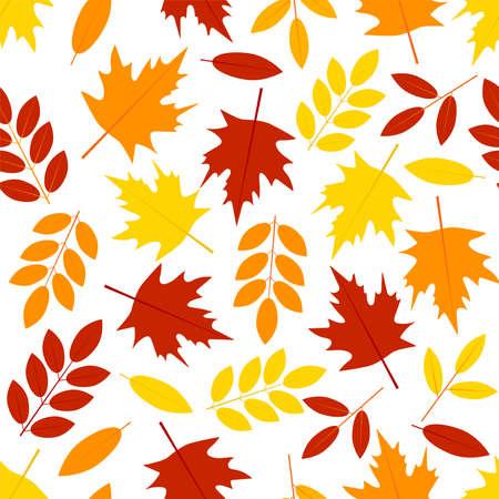 Autumn seamless pattern. Digital paper. Vector background. 일러스트