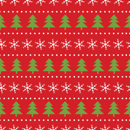 Christmas seamless pattern. Colorful background. Vector illustration.  イラスト・ベクター素材
