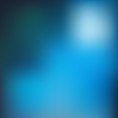 Blue blur background. Vector illustration EPS 10