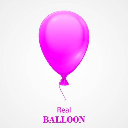 Festive Balloon isolated on white background.  EPS 10