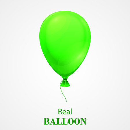 event party festive: Festive Balloon isolated on white background.  EPS 10