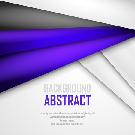 grey abstract background: Abstract background of purple, white and black origami paper.