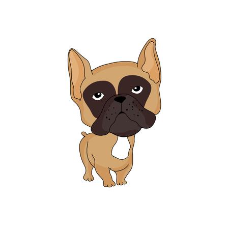 Bulldog francés  Foto de archivo - 68779151