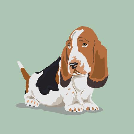 beagle sad