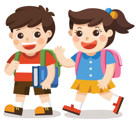 Back to school illustration. Stok Fotoğraf - 83853023