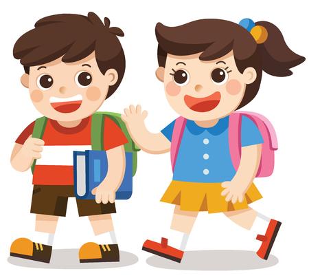 Zurück zur Schule Illustration Standard-Bild - 83853023