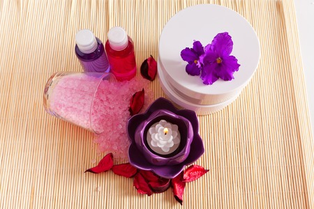 items for spa and relaxation, still life