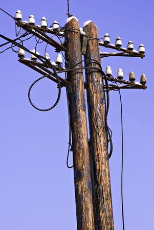 divergence: Old Electrical Tower
