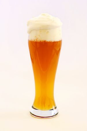 brewage: Wheat Beer Stock Photo