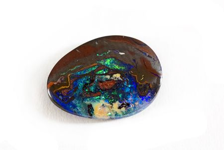 opalesce: Colored Opal Stock Photo