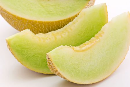 melon fruit: Rock Melon