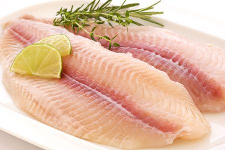 catfish: Filete de Pangasius