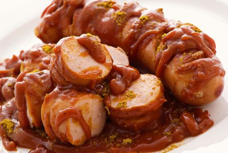Curry Sausages photo