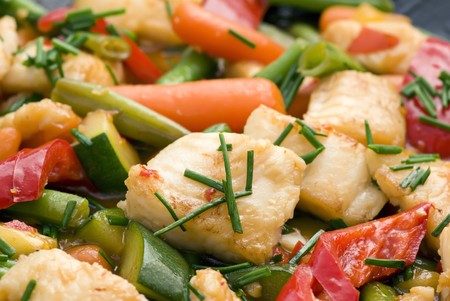Thai Fish with Vegetable photo