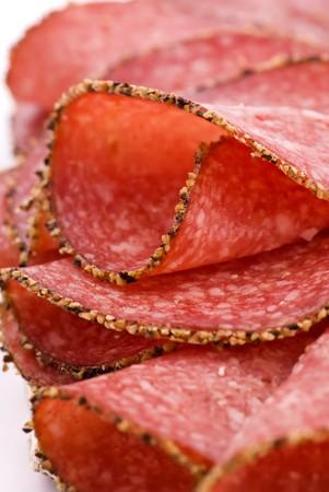 smoked sausage: Pepper Salami