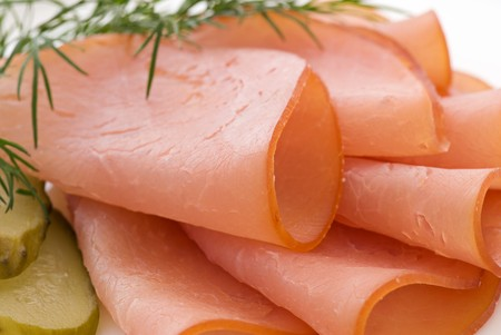 Rolled Fillet of Ham Stock Photo - 7650600
