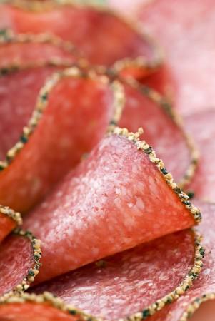 air dried salami: Pepper Salami