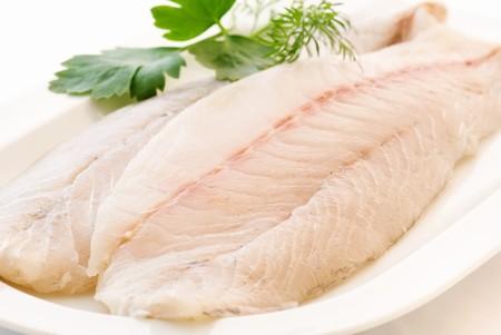 foodie: Pangasius Filet Stock Photo