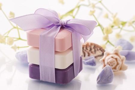 babosa: Jabón perfumado