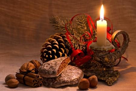 luz de velas: Decoraci�n de Navidad barroca
