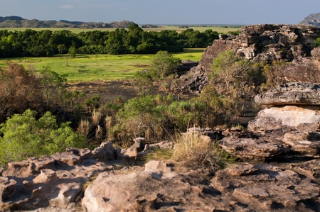Outback Rocks and Bottomland  photo
