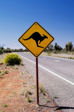 Traffic Sign beside the Street Stock Photo - 8458685
