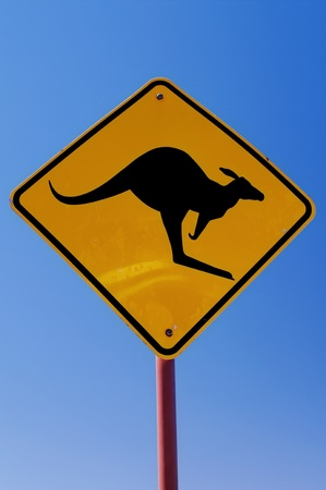 Australian Traffic Sign Stock Photo - 8458742