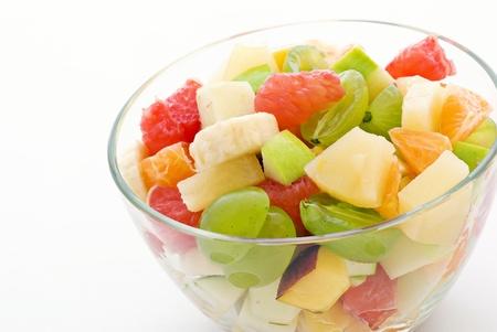 fruit salad: Fruit Salad Stock Photo