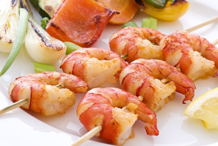 Prawn Skewer photo