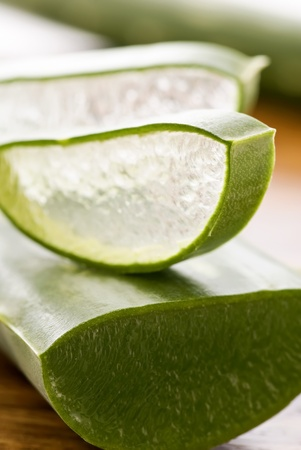 acemannan: Aloe Leaf and Aloe Slice