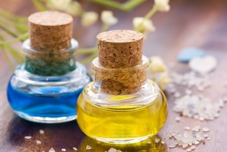Massage Öl Standard-Bild - 8487218