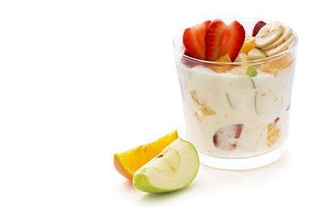 Fruit Salat with yoghurt photo