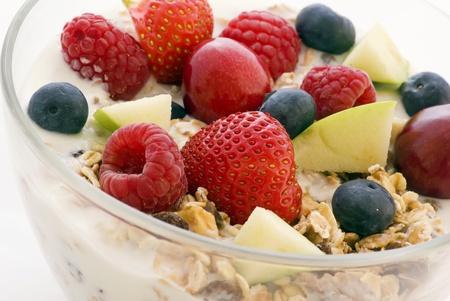 muesli with fruits Stock Photo - 8487282