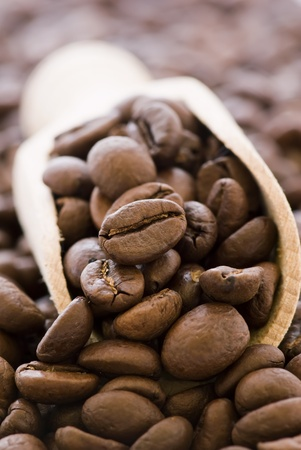 pale: Coffee Beans