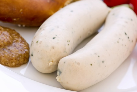 weisswurst: Weisswurst with Pretzel