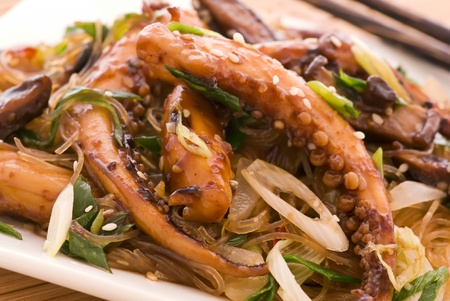 exotically: Octopus in Oystersauce