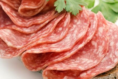 air dried salami: Salami Bread